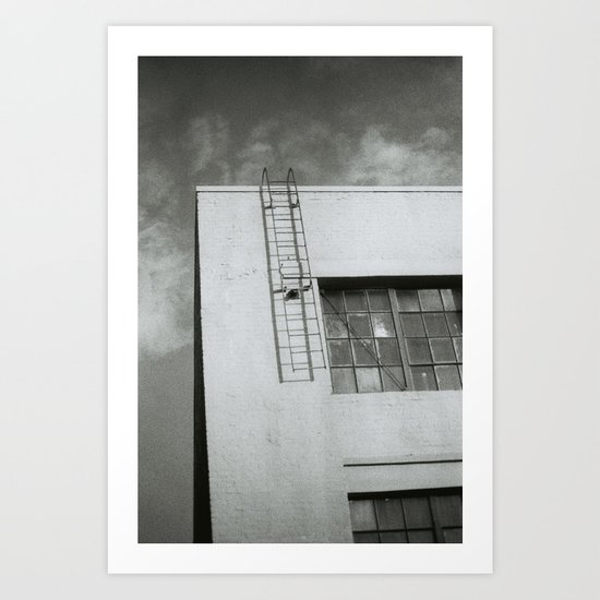 Ladder to Nowhere Art Print