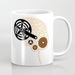 Brain Chain Colored Coffee Mug