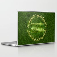 the lord of the rings Laptop & iPad Skins featuring THE LORD OF THE RINGS by Bilqis
