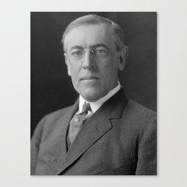 President Woodrow Wilson Canvas Print
