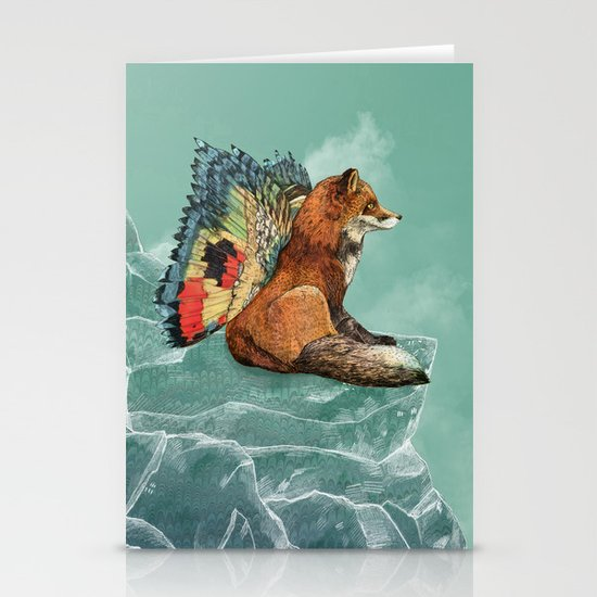 Flying Fox Stationery Cards
