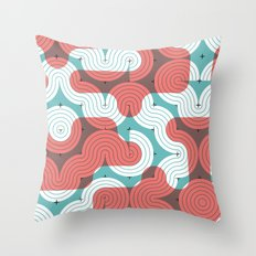 CONNECTED #4 Throw Pillow