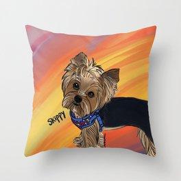 Skippy Throw Pillow