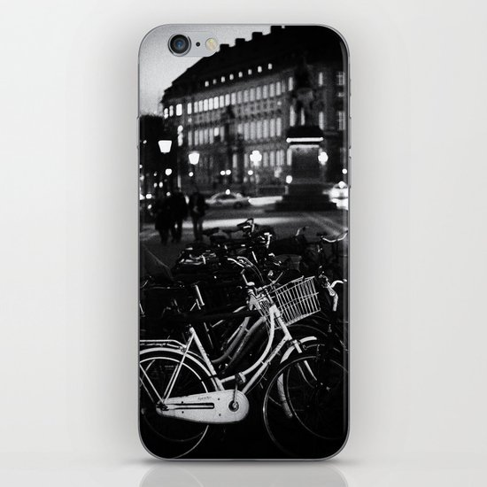 Bike Stand iPhone Skin