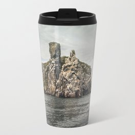 Irish rocks landscape Travel Mug
