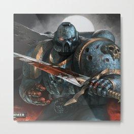 Warhammer Soldier Metal Print