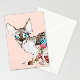 sphinx cat Stationery Cards