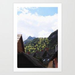 The Slovenian Alps Art Print