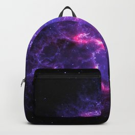 Pink Purple Crab Nebula Backpack