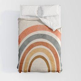 Abstract Rainbow 88 Comforters