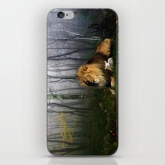 Lion and Lamb iPhone & iPod Skin