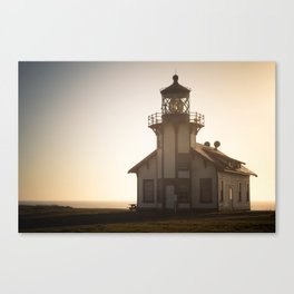 Dusk Lighthouse Canvas Print