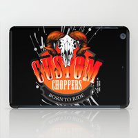 custom iPad Cases featuring Custom Choppers by BerkKIZILAY