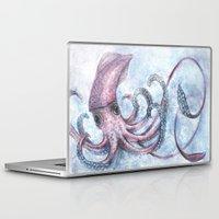 squid Laptop & iPad Skins featuring Squid by Danielle Borisoff