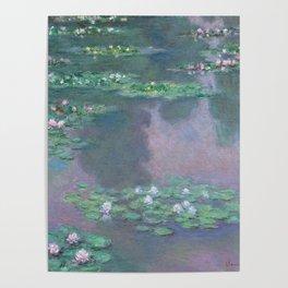 Water Lilies Monet 1905 Poster