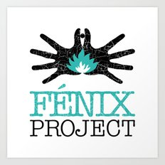 Fénix project Art Print