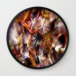 Flower Seeds-2 Wall Clock