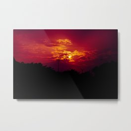 """""""With each sunrise, we start anew"""" Metal Print"""
