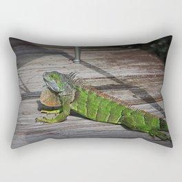 Cayman Iguana I Rectangular Pillow