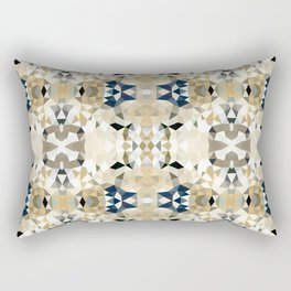 Neutral Tribal Rectangular Pillow