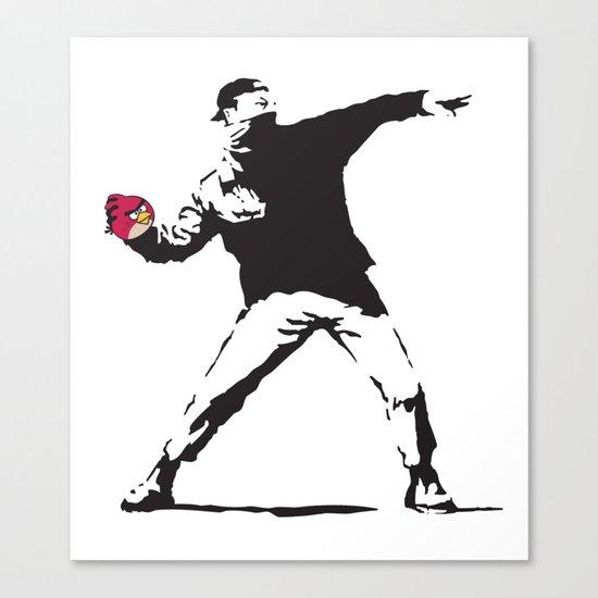 Angry Birdksy Canvas Print