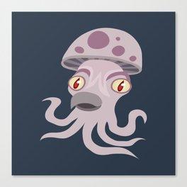 Spore Squid Canvas Print