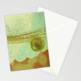 storm at the bay Stationery Cards