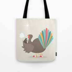 Merry Christmas - Going Cold Turkey from Shopping Sprees Tote Bag