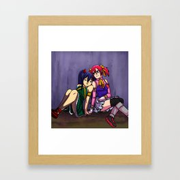Girlfriends Framed Art Print