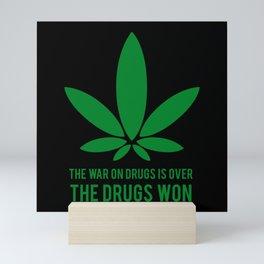 The Drugs Won (2) Mini Art Print