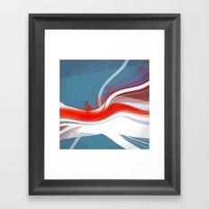 Freeze Frame Framed Art Print