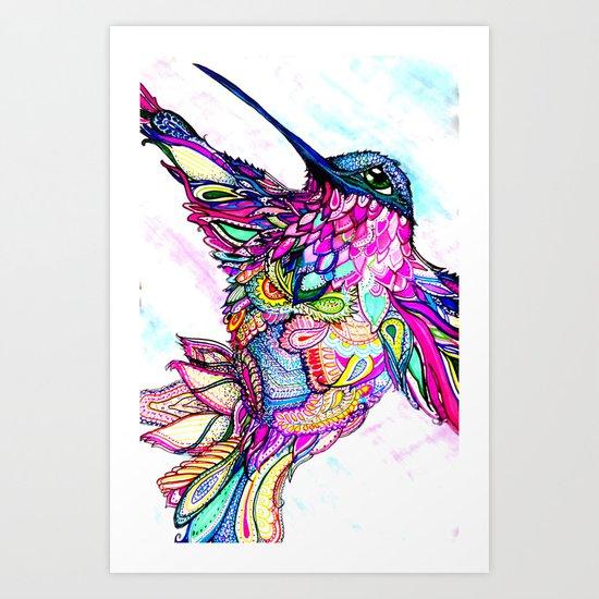 Illusion Fantasy in Flight Art Print