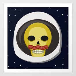 Bacon and Exploration in Space Art Print