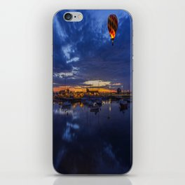 Harbour Night Flight iPhone Skin