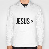 jesus Hoodies featuring Jesus > by Sarah Leanne