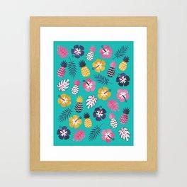 FOREVER SUMMER on MINT Framed Art Print