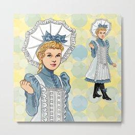 Alice Bonnet Metal Print