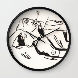 Cigarettes after sex Wall Clock