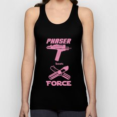 Force beats Phaser Unisex Tank Top