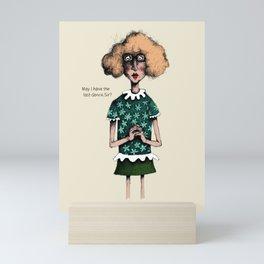 Last dance Mini Art Print