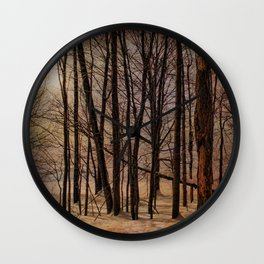 To My Tree Wall Clock