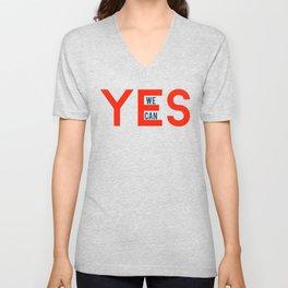 Yes we can Unisex V-Neck