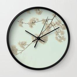 Brush the Sky Wall Clock