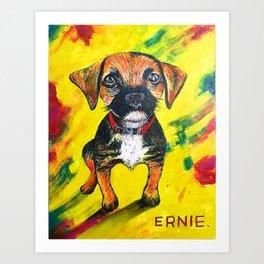 Hello Ernie Art Print