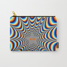 acid funky funny drippy design Carry-All Pouch