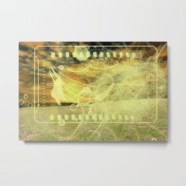 Sunshine E Metal Print