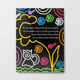 How Wonderful You Are Metal Print