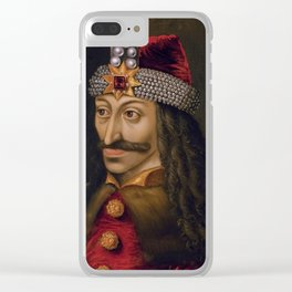Vlad The Impaler Clear iPhone Case