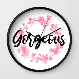 Gorgeous Wall Clock