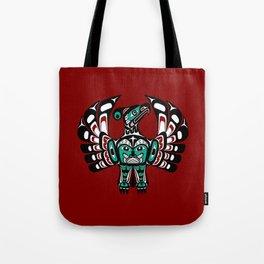 Northwest Pacific coast Haida art Thunderbird Tote Bag